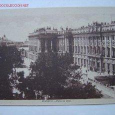 Postales: MADRID PALACIO REAL. Lote 604812