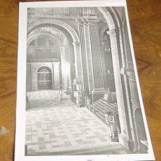 Postales: ANTIGUA POSTAL DE EL ESCORIAL - MADRID - MONASTERIO - BASILICA TUMBA DE JOSE ANTONIO - NO CIRCULADA. Lote 3175926