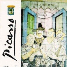 Postales: POSTAL HOMENAJE DE MADRID A PICASSO- 1981. Lote 21289522