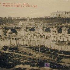 Postales: MADRID: VISTA PANORÁMICA DESDE EL CERRO DE LA PLATA. Lote 3569387