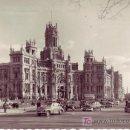 Postales: POSTAL FOTOGRAFICA DE MADRID. PALACIO DE COMUNICACIONES. Lote 24833375