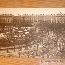 Postales: ANTIGUA POSTAL MADRID, PLAZA DE ORIENTE PALACIO REAL, GRAFOS MADRID. Lote 3660390
