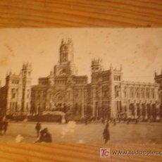 Postales: POSTAL ANTIGUA MADRID, CASA DE CORREOS, 7 GRAFOS MADRID. Lote 3660394