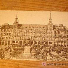 Postales: POSTAL NTIGUA MADRID, PLAZA MAYOR, 56, GRAFOS MADRID. Lote 3660431