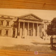 Postales: POSTAL ANTIGUA DE MADRID, CONGRESO DE LOS DIPUTADOS, 227 GRAFOS MADRID. Lote 3660432