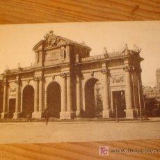 Postales: POSTAL ANTIGUA MADRID, PUERTA DE ALCALA , 21 GRAFOS MADRID. Lote 3660433