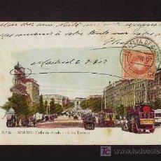 Postales: POSTAL DE MADRID: CALLE DE ALCALA (ED.JOSE BLASS NUM.22) (TRANVIAS). Lote 3734296