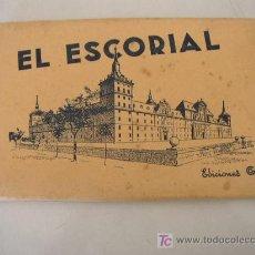 Postales: CARPETA CON 15 POSTALES DE EL ESCORIAL- EDC. GARCÍA GARRABELLA- ZARAGOZA.- VER FOTOS.. Lote 22149905