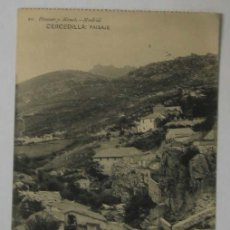 Postales: TARJETA POSTAL CERCEDILLA (MADRID). PAISAJE. Lote 12826439