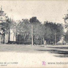 Postales: POSTAL MADRID, SAN ANTONIO DE LA FLORIDA HAUSER Y MENET . Lote 26721327