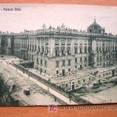 Postales: MADRID - PALACIO REAL: VISTA GENERAL EDITADA POR AHE - PRINCIPIOS DE SIGLO XX. Lote 15053901
