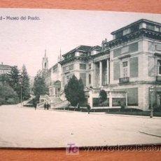 Postales: MADRID - MUSEO DEL PRADO - EDICIÓN GRANDES ALMACENES MADRID-PARÍS - PRINCIPIOS DE SIGLO XX. Lote 25713495