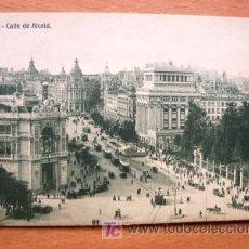 Postales: MADRID - CALLE DE ALCALÁ - EDICIÓN GRANDES ALMACENES MADRID-PARÍS - PRINCIPIOS DE SIGLO XX. Lote 23220401