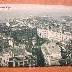 Postales: MADRID - PLAZA MAYOR - EDICIÓN GRANDES ALMACENES MADRID-PARÍS - PRINCIPIOS DE SIGLO XX. Lote 23220389