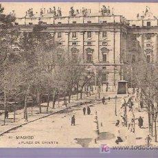 Postales: TARJETA POSTAL DE MADRID. Nº 72. PLAZA DE ORIENTE. FOTPIA. HAUSER Y MENET. - MADRID.. Lote 4616184