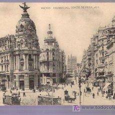 Postales: TARJETA POSTAL DE MADRID. AVD. DEL CONDE DE PEÑALVER. FOTPIA. HAUSER Y MENET. - MADRID.. Lote 4616194