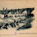 Postales: MADRID. UN LAVADERO DEL PUENTE DE TOLEDO. HAUSER Y MENET 767. Lote 4660316