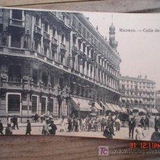 Postales: MADRID-CALLE DE SEVILLA. Lote 4673052