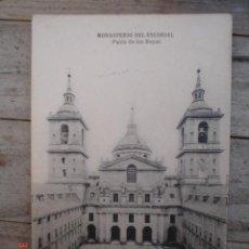 Postales: MADRID---MONASTERIO EL ESCORIAL. Lote 4673539