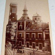 Postales: ANTIGUO POSTAL MADRID - PLAZA Y TORRE DE SANTA CRUZ - ED. GRAFOS - NO CIRCULADA.. Lote 4725421