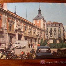 Postales: PLAZA DE LA VILLA Y AYUNTAMIENTO. MADRID.. Lote 4821875