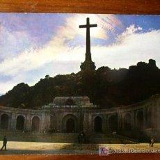 Postales: SANTA CRUZ DEL VALLE DE LOS CAÍDOS. FACHADA CONTRALUZ. Lote 4840770