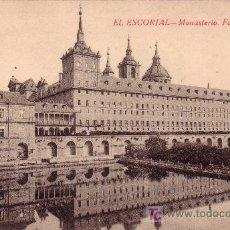 Postales: EL ESCORIAL - MONASTERIO . FACHADA LATERAL. Lote 11650579