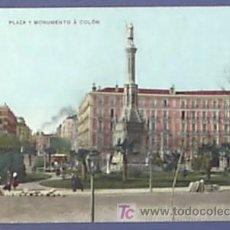 Postales: MADRID. PLAZA Y MONUMENTO A COLON. Nº 6 UNION POSTAL UNIVERSAL.. Lote 26450564