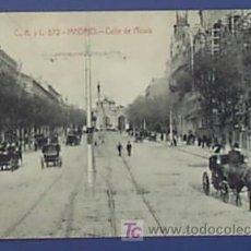 Postales: C.A. Y L. 572. MADRID. PUERTA DE ALCALÁ. Lote 25105417