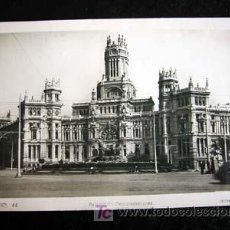 Postales: POSTAL DE MADRID. PALACIO DE COMUNICACIONES. CIRCULADA 1947.. Lote 4889951