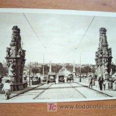 Postales: MADRID, PUENTE DE TOLEDO - PRINCIPIOS DE SIGLO XX - HUECOGRABADO HAUSER Y MENET. Lote 18865233