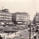 Postales: POSTAL FOTOGRAFICA DE MADRID.PUERTA DEL SOL.CIRCULADA.. Lote 27396555