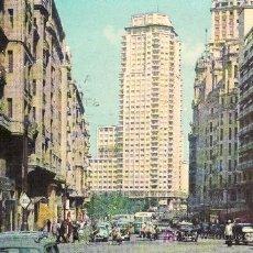 Postales: POSTAL FOTOGRAFICA DE MADRID- AV.DE JOSE ANTONIO. CIRCULADA.. Lote 24833359