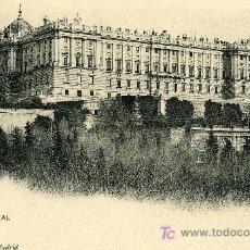 Postales: HAUSER Y MENET Nº 81.- MADRID.- PALACIO REAL.. Lote 25655030