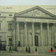 Cartoline: 934 MADRID CONGRESO TRANVIA TRAMWAY - MAS POSTALES DE ESTA CIUDAD EN MI TIENDA COSAS&CURIOSAS. Lote 5554168