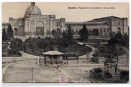 Madrid Palacio De La Industria Y De Las Artes Comprar