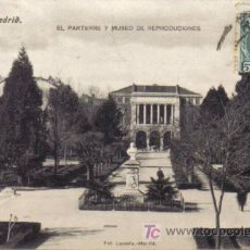 Postales: TARJETA POSTAL DE MADRID Nº 38. EL PARTERRE Y MUSEO DE REPRODUCCIONES.. FOT. LACOSTA.- MADRID.. Lote 6995192