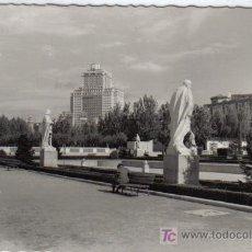 Postales: 204 MADRID - JARDINES DE SABATINI. Lote 27036811