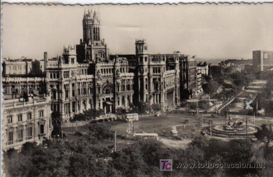 123 MADRID - CIBELES Y PASEO DEL PRADO (Postales - España - Madrid Moderna (desde 1940))
