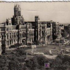 Postales: 123 MADRID - CIBELES Y PASEO DEL PRADO. Lote 27059972