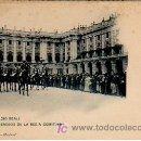 Postales: MADRID. (PALACIO REAL). PALAFRENEROS DE LA REGIA COMITIVA. HAUSER Y MENET, 763. . Lote 6023712