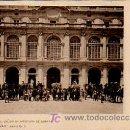 Postales: MADRID. PATIO PRINCIPAL UN DÍA DE APERTURA DE CORTES. COLECCIÓN CÁNOVAS, SERIE G, Nº 3. . Lote 6023718