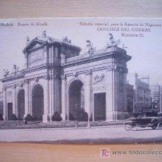 Postales: POSTAL DE PRINCIPIOS DE SIGLO XX. 1910 APROX. PUERTA DE ALCALÁ. MADRID. . Lote 5999204