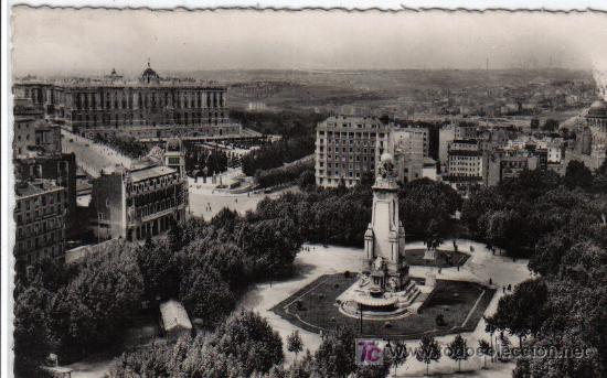 74 MADRID - PLAZA DE ESPAÑA (Postales - España - Madrid Moderna (desde 1940))