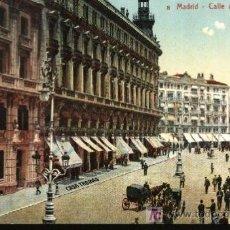 Postales: MADRID. CALLE DE SEVILLA.. Lote 18946016
