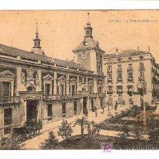 Postales: TARJETA POSTAL DE MADRID. EL AYUNTAMIENTO. FOTOTIPIA HAUSER Y MENET . - MADRID.. Lote 6149555