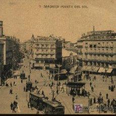 Postales: MADRID. PUERTA DEL SOL.. Lote 6971552