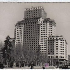 Postales: 77 - MADRID - EDIFICIO DE LA PLAZA DE ESPAÑA. Lote 26637765