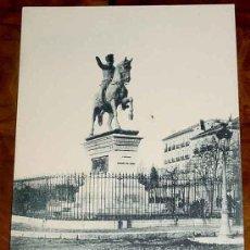 Postales: ANTIGUA POSTAL DE MADRID - FOT. LAURENT NUM. 35 - SIN CIRCULAR Y SIN DIVIDIR - ESTATUA DE DEL MARQUE. Lote 13996201