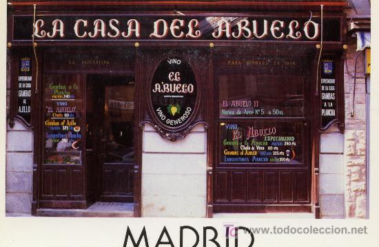 CLASICA TABERNA 2 (Postales - España - Madrid Moderna (desde 1940))